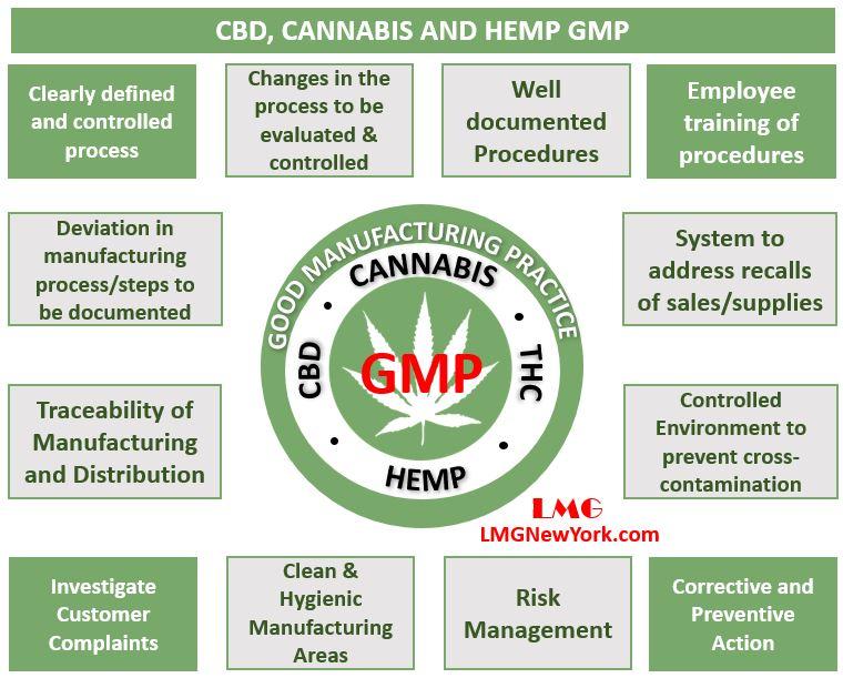 CBD Cannabis and Hemp GMP